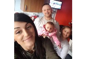 Lee Marshall's fianc has issuedthis photo of the family together. The family has asked for absolute privacy during this difficult time.