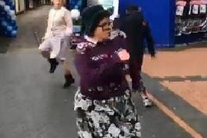 'Dancing grannies' bust a move to celebrate Bulwell shop opening