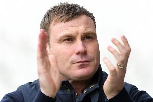 Picture Andrew Roe/AHPIX LTD, Football, EFL Sky Bet League Two, Mansfield Town v Crewe Alexandra, One Call Stadium, 23/03/2019, K.O 3pm''Mansfield's manager David Flitcroft''Andrew Roe>>>>>>>07826527594
