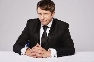 Tom Walker as Jonathan Pie, who is on tour in the North West