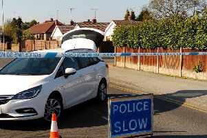 Police sealed off Park Hall Road, at Mansfield Woodhouse, on Friday morning, as part of an on-going murder investigation.