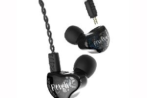 RevoNext RX8S Earphones in black