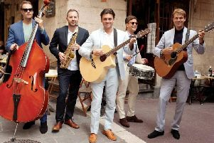 Party like A-listers with the Euro band