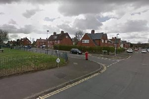 The incident happened in Kersall Drive, at the junction of Brooklyn Road, Bulwell.