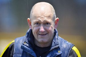 Hucknall manager Andy Graves