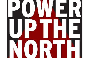 Power up the North logo