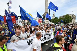 People's Vote campaigners like Rachel Reeves MP are reiterating calls for a second referendum on Brexit.