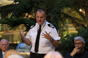 South Yorkshire Police Chief Constable Stephen Watson. Picture by Chris Etchells.