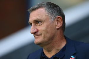 Blackburn boss Tony Mowbray - impressed by Mansfield last night.