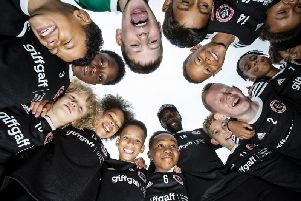 The head designer at giffgaff redesigned the Junior Blades kits for the season