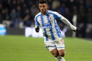 Elias Kachunga - Ready to mount a sustained challenge to return to the Premier League. (Picture: Bruce Rollinson)
