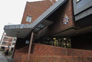 Chesterfield Police Station, on New Beetwell Street.