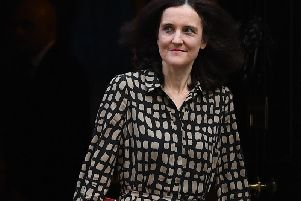 Environment Secretary Theresa Villiers sent a recorded video message to the delegates at the UK National Parks conference being held by the Yorkshire Dales National Park Authority. Picture by Victoria Jones/PA Wire.
