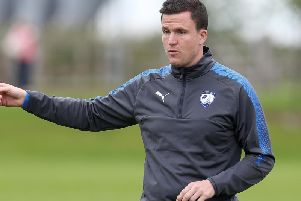 Former Chesterfield manager Gary Caldwell has been sacked by Partick Thistle.