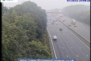 Junction 31 southbound of M1
