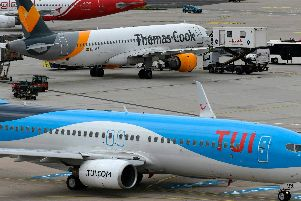 Thomas Cook collapsed on Monday. Photo - INA FASSBENDER/AFP/Getty Images