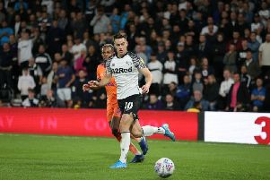 Tom Lawrence has been charged with drink driving along with team-mate Mason Bennett.