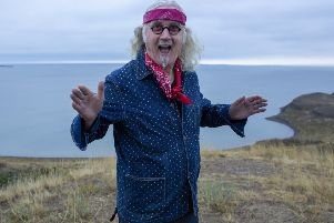 Billy Connolly in The Sex Life of Bandages. Photo by Jaimie Gramston
