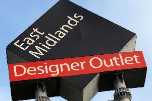 A thief targeted stores at the East Midlands Designer Outlet, at South Normanton.