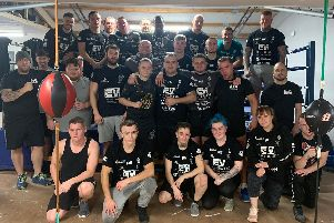 The members of Lion's Den boxing club are fighting to raise money for a worth cause.