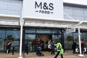 The new M&S Food Hall at Robin Park