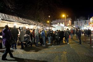 Ilkeston celebrates the annual Christmas lights switch-on on Friday 29 November.
