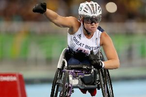 Hannah Cockroft: Goes for her second world title of the week and 12th overall on Thursday. (Picture: Getty Images)