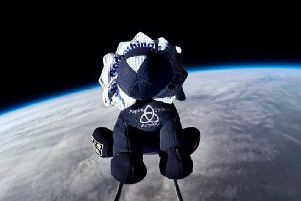Brian the Lion in space