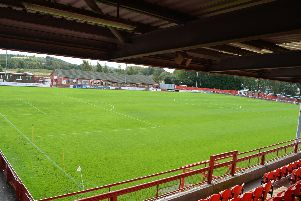Ilkeston's New Manor Ground.