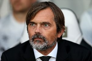 Derby County boss Phillip Cocu