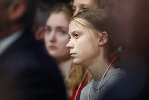 Teenage climate change activisty Greta Thunberg addressed world leaders in Davos.