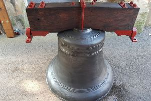 The 19th century bell has returned to Stapleford Cemetery after its restoration, and will ring for the first time this century at a ceremony on February 8.
