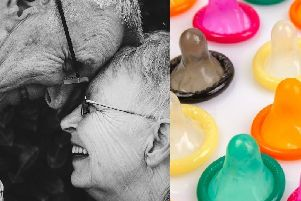 Apps like Tinder and an increase in divorce rates have seen more 'getting jiggy with it' at an older age, prompting the sexual health campaign.