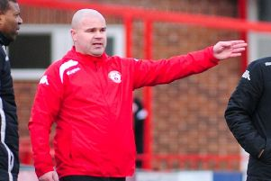Lee Fowler has hailed his Robins squad. Photo by Craig Lamont.