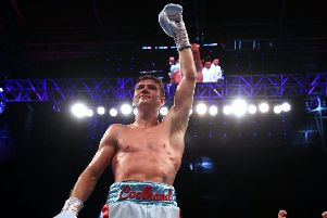 Luke Campbell celebrates another win (Picture: Nick Potts/PA Wire)