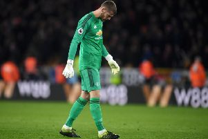 David De Gea could be on his way to PSG. (Photo by Michael Regan/Getty Images)