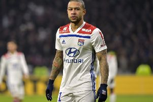 Lyon's Dutch forward Memphis Depay could be a target of Liverpool. ROMAIN LAFABREGUE/AFP/Getty Images)
