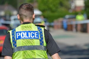 Armed police have been spotted in an Ilkeston street this afternoon.