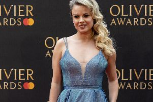 Joanne Clifton is appearing in The Rocky Horror Show which comes to Yorkshire this summer. (Picture: PA).