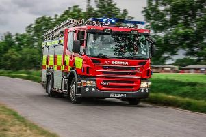 Derbyshire fire crews called to horse in a ditch