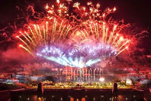 Kynren  is a spectacular live action show