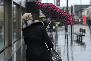 A yellow weather warning has been issued for heavy rain in Derbyshire.