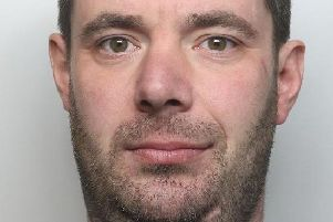 Richard Hodgkinson has been sentenced to eight years in jail after stabbing a 20-year-old man in Ironville. Photo: Derbyshire Constabulary