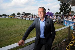 Guy Smith, deputy president of the National Farmers' Union, pictured at the 144th Driffield Show. Picture by Simon Hulme.