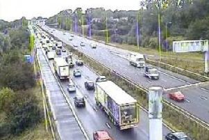 All lanes are now clear but motorists still face delays on approach to the scene due to residual congestion