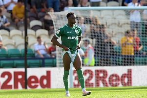 Bad day: Defender Moses Odubajo conceded two penalties. Picture: Steve Ellis