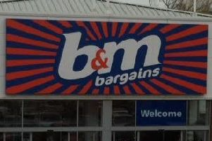 Pictured is a B&M Bargains store.