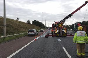 The M6 has reopened this morning at 6am following a 10-hour closure overnight to resurfacing after yesterday's fuel spillage