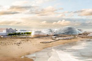 An artist's impression of Eden Project North, a proposed new attraction for Morecambe . Credit: Grimshaw Architects