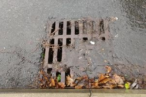 Drainage issues often cause delay in new roads being adopted - and problems like this one on the Duxbury Manor estate in Chorley are not the duty of the county council fix until the adoption process is complete